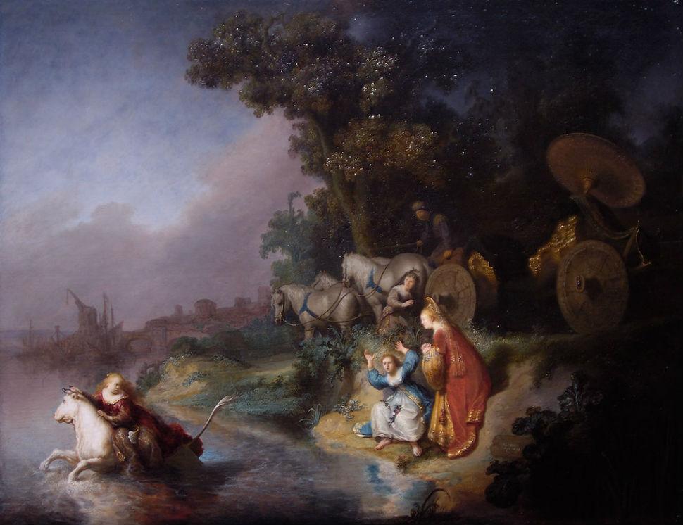 Рембрандт Харменс ван Рейн - Похищение Европы - 1632.jpg