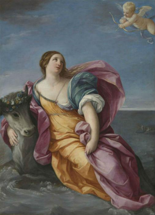 Гвидо Рени - Похищение Европы (1630-е годы).jpg