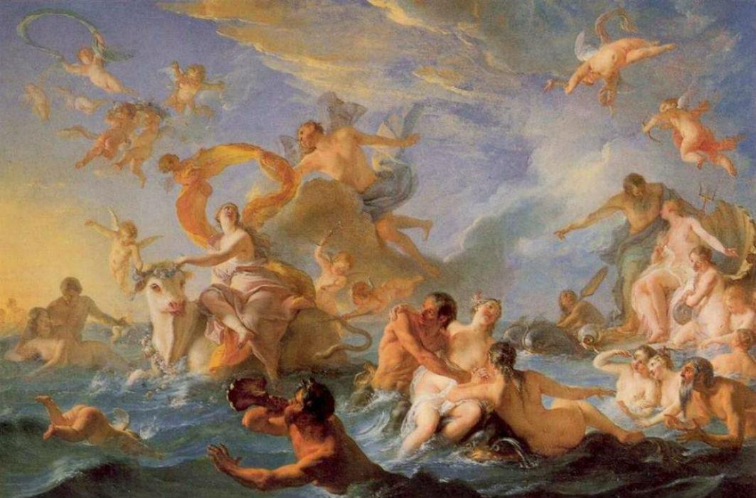 Куапель Ноэль-Никола - Похищение Европы Музей искусств Филадельфии.jpg