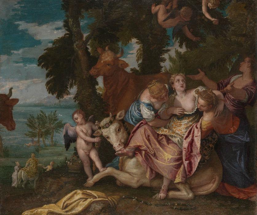 Паоло Веронезе - Похищение Европы (Лондонская картинная галерея).jpg