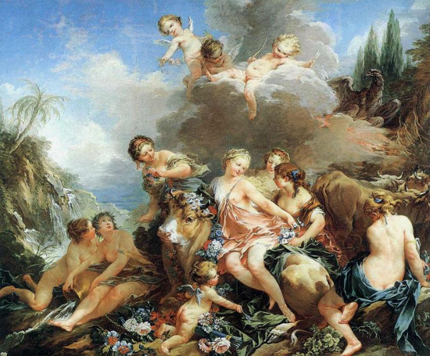 Франсуа Буше - Похищение Европы (1732-1734).jpg