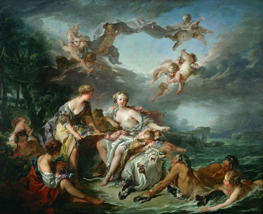 Франсуа Буше - Похищение Европы - 1747.jpg