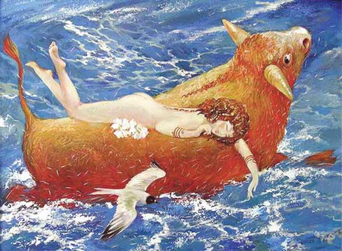 Дубинин Юрий - Похищение Европы - Ей хорошо а ты плыви.jpg