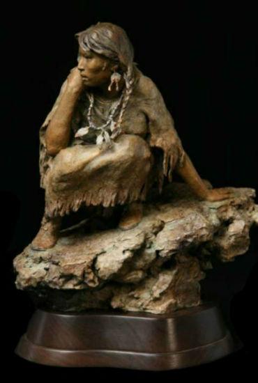 Джон Коулман - Североамериканская индианка.jpg