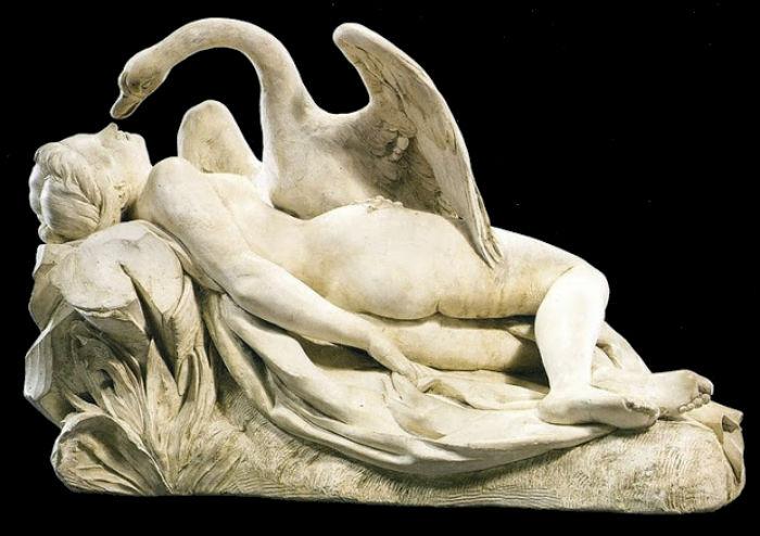 Auguste Clésinger - Леда и лебедь (1864).jpg