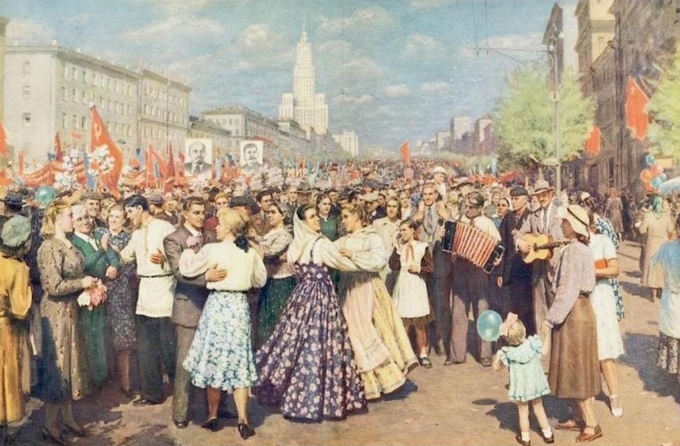 Кугач Юрий Петрович - 1 Мая - 1952.JPG