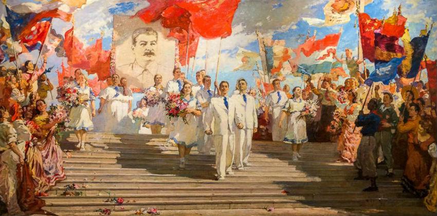 Соколов Алексей Константинович  - Знаменосцы мира - 1951.jpg