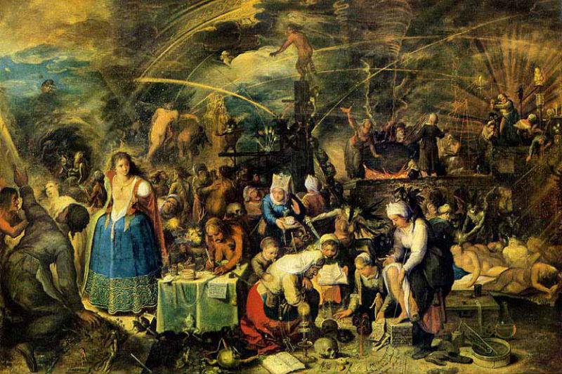 Франц Франкен II - Шабаш - 1607.jpg