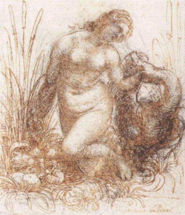 Эскиз Леды -  1503 - 1507 - Музей Бойманс Ван Бьюнинген - Роттердам.jpg