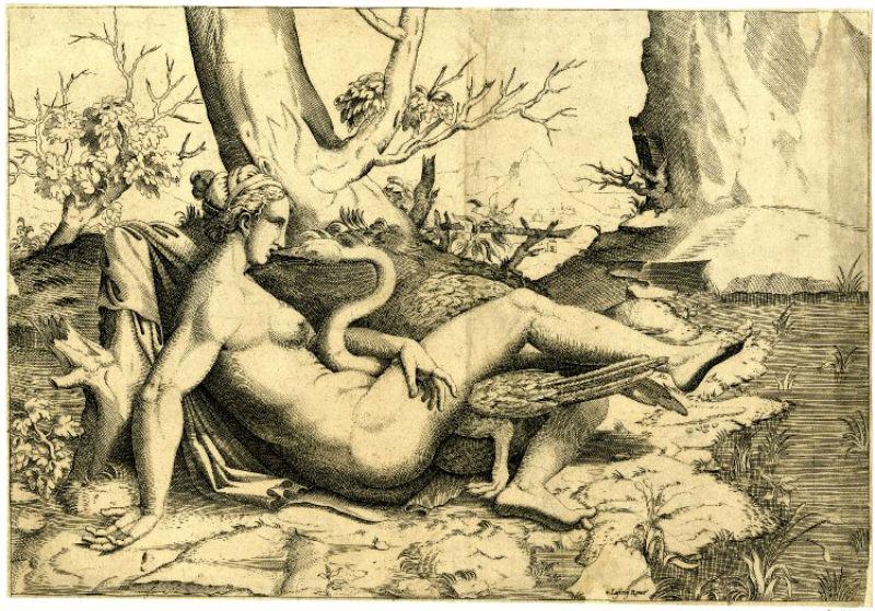 Antoine Lafréry  - отпечаток с работы Энеа Вико (копия Микеланджело).jpg