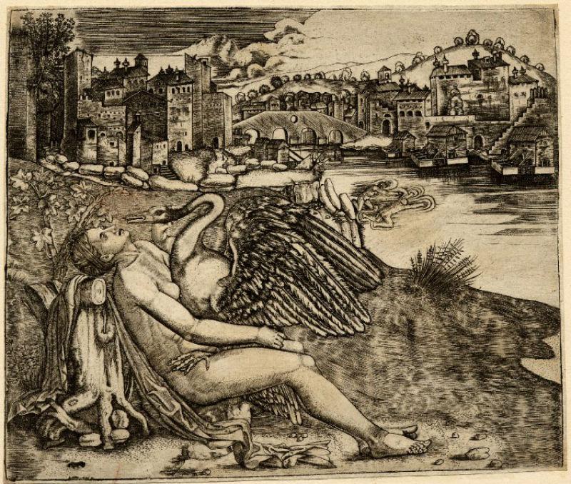 Приписывается Джулио Кампаньоле (раньше приписывалось Агостино Венециано) - 1515-1530.jpg
