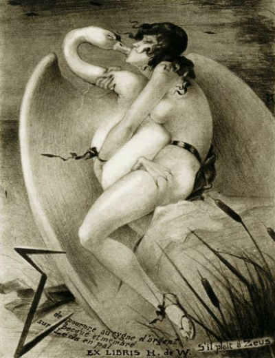 JEAN MORISOT (1899-1967) - Леда и лебедь.jpg