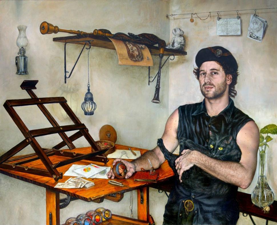 gabriel-gruen-self-portrait-in-the-manner-of-holbein-2007.jpg