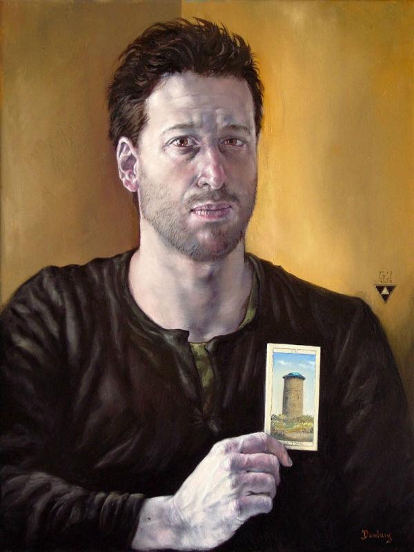 gabriel-gruen-self-portrait-with-tower (Автопортрет с башней) - 2008.jpg