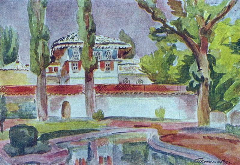 Кончаловский - Бахчисарай. Ханский дворец.jpg