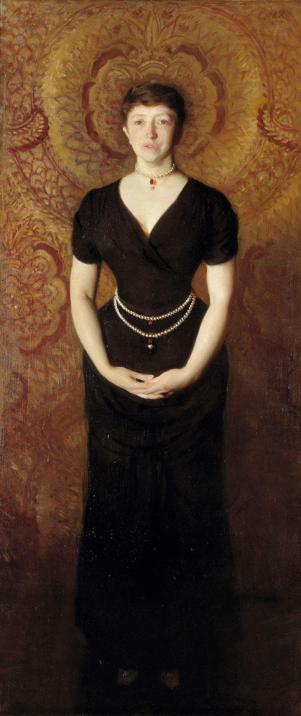 3 - Изабелла Стюарт Гарднер - Джон Сингер Сарджент - 1888.jpg