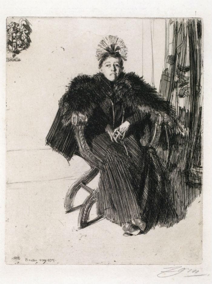 4 - Изабелла Стюарт Гарднер - Андерс Цорн - 1894.jpg