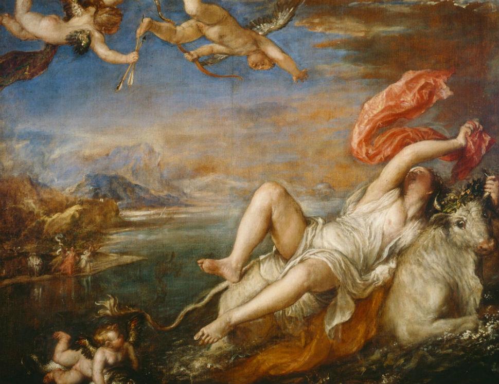 15 - Похищение Европы - Тициан Вечеллио - 1562.jpg
