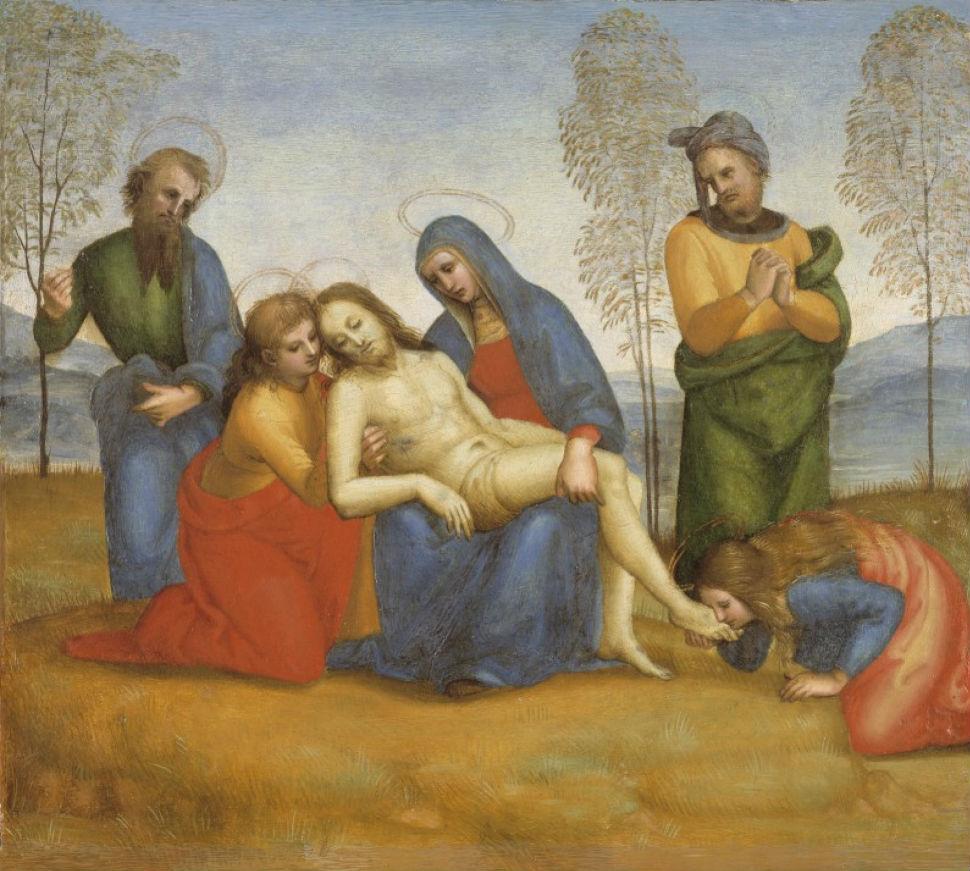 17 - Рафаэль Санти - Пьета - 1504.jpg