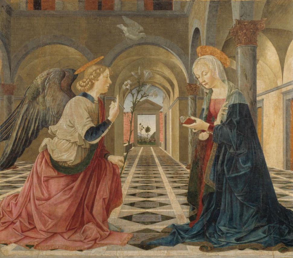 18 - Пьерматтео д'Амелиа - Благовещение - 1475.jpg