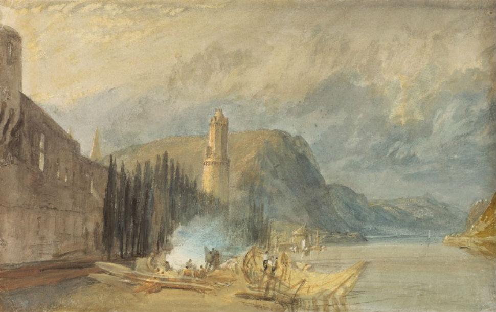 23 - Римская башня Андернах - Джозеф Мэллорд Уильям Тёрнер - 1817.jpg