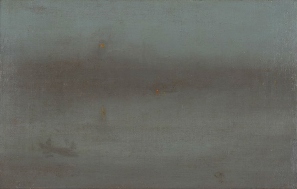 23-1 - Ноктюрн синий и серебряный. Баттерси Рич - Джеймс Эббот Макнейл Уистлер - 1870-е.jpg