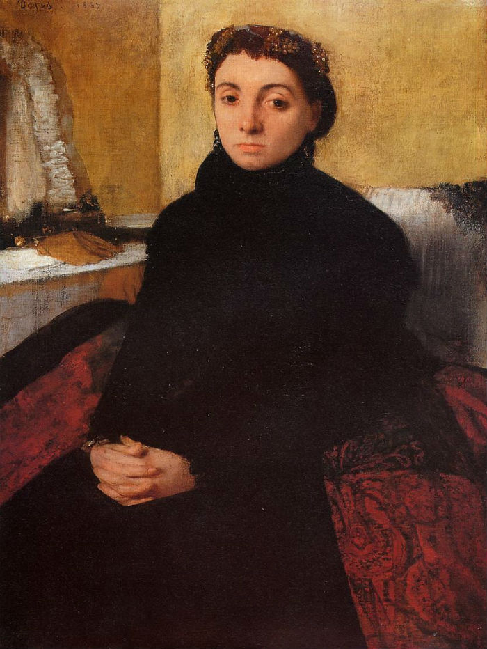 26 - Эдгар Дега - Жозефина Гожелен - 1867.jpg