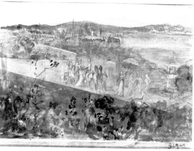 Edgar Degas Cortege aux Environs de Florence.jpg