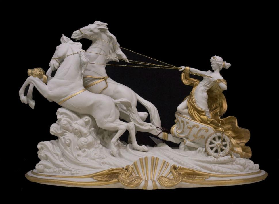 Statuetka farforovaya - Porcellane Principe - Италия - Avrora - 1.jpg