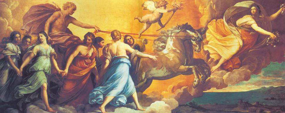 Гвидо Рени - Аврора - Палаццо Роспильози-Паллавичини -  Рим - 1614.jpg
