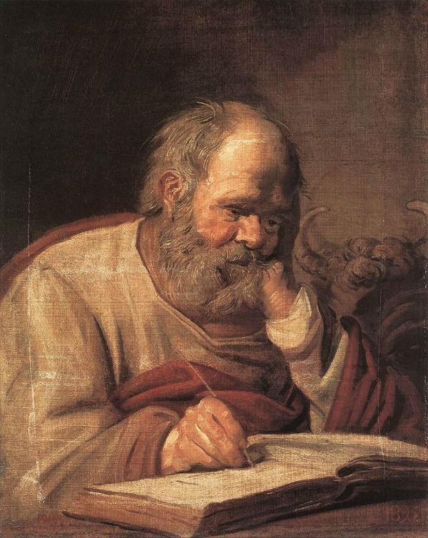 Франс Хальс - Святой Лука -  около 1625.jpg