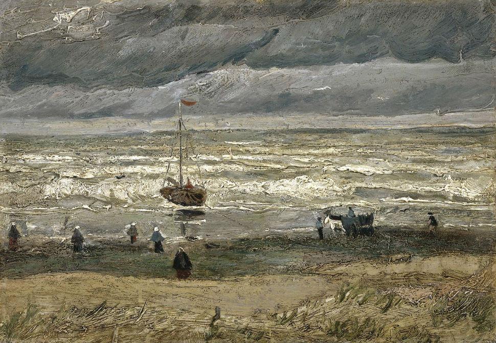 Винсент Ван Гог - Вид на море у Схевенингена - 1882.jpg