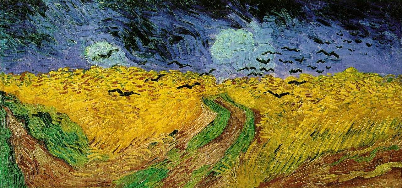 Винсент Ван Гог - Пшеничное поле с воронами -1890.jpg