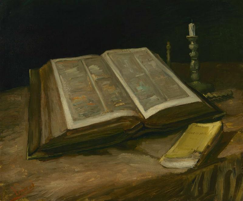 Винсент Ван Гог - Натюрморт с библией - 1885.jpg
