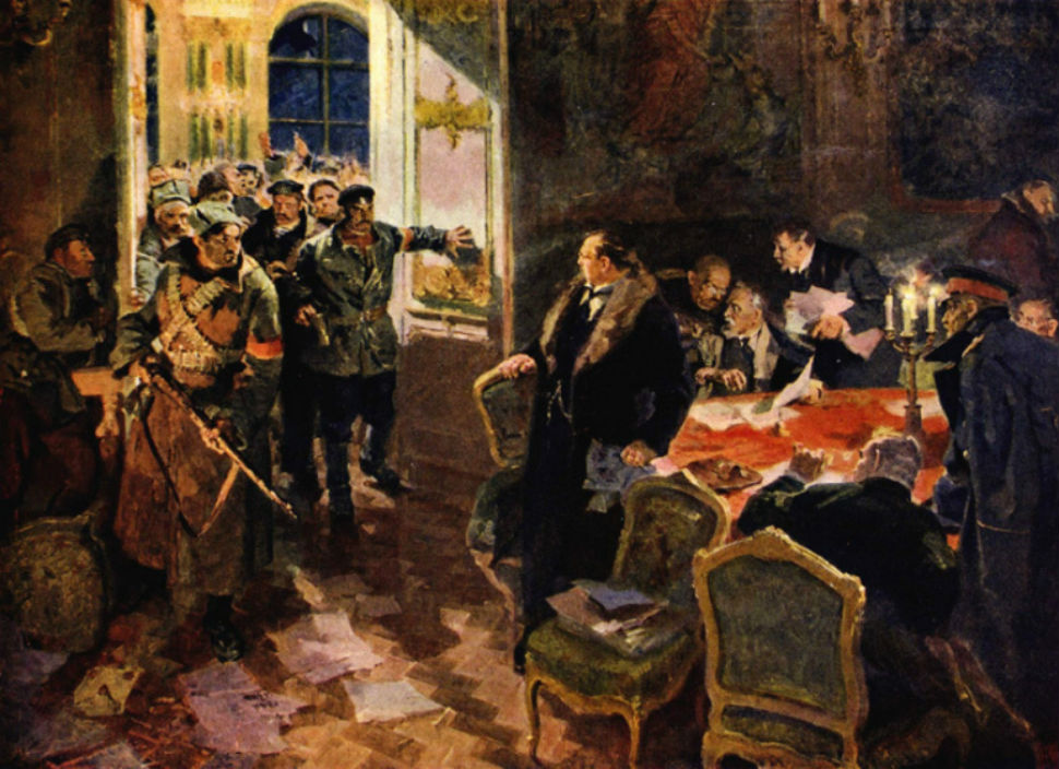 Александр Лопухов - Арест Временного правительства - 1957 - Национальный музей им.jpg
