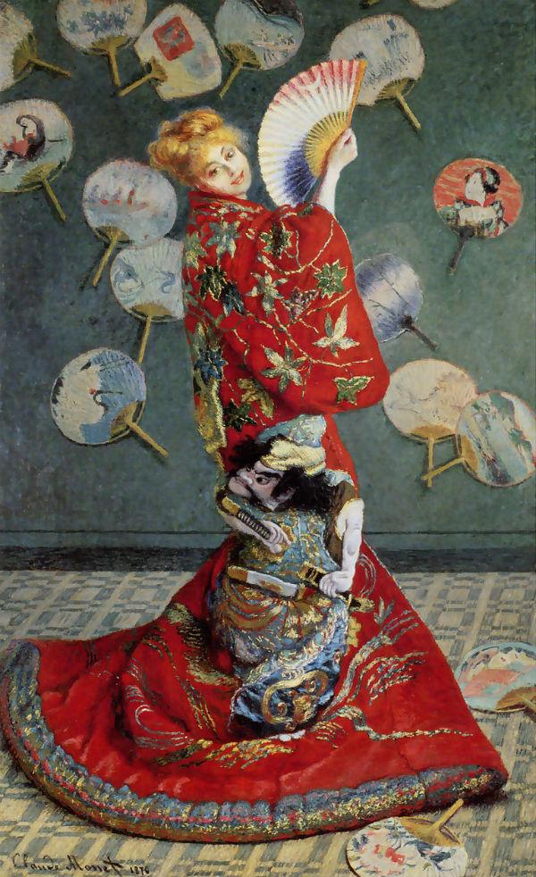 Клод Моне - Камилла в японском кимоно.jpg