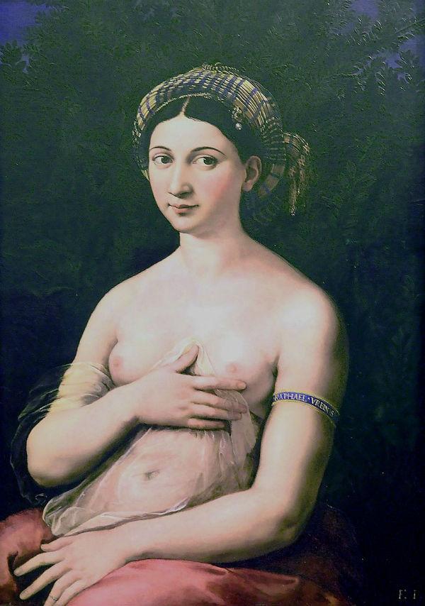 Рафаэль Санти - Форнарина (Стыдливая Венера).jpg