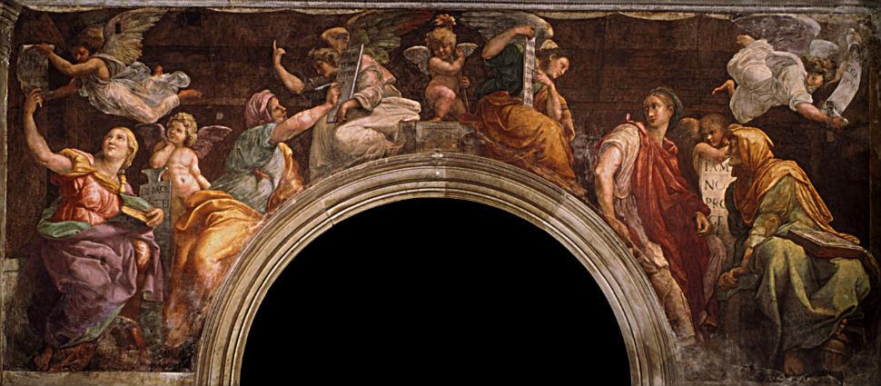 Рафаэль Санти - Пророки и сивиллы - 1514.jpg