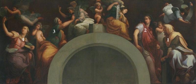 Рафаэль Санти - Пророки и сивиллы - 1514 - 2.jpg