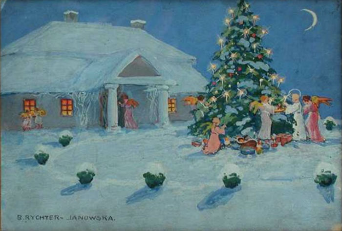 Бронислава Рихтер-Яновска - Рождество.jpg