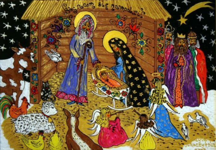 Эдита Марчиньска - Бог родился.jpg