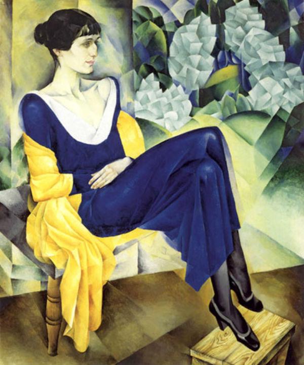 Натан Альтман - Портрет Анны Ахматовой - 1914.jpg