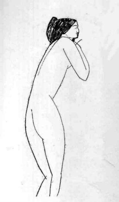 Амедео Модильяни - Обнаженная (Анна Ахматова) - 1911 - 2.jpg