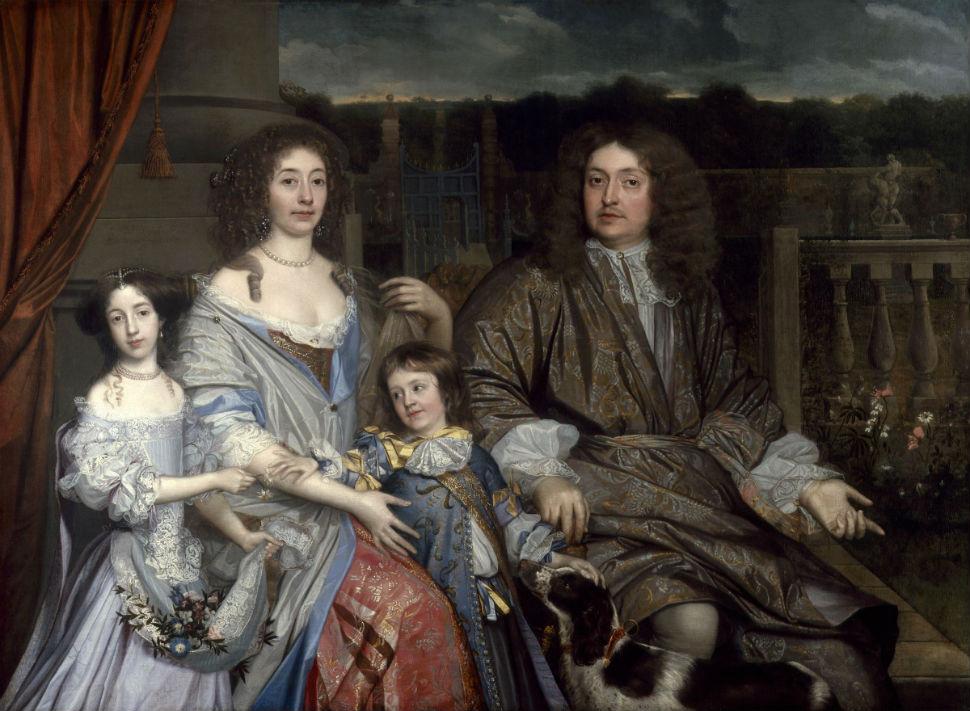 Джон Майкл Райт - Семья сэра Винера - 1673.jpg