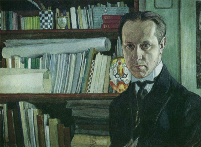 Мстислав Добужинский _ Автопортрет - 1910.jpg