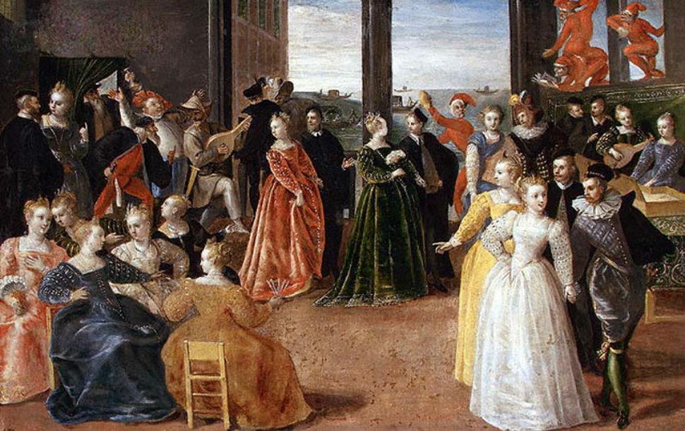 Иероним Франкен II (1578-1623) - Карнавал в Венеции.jpg