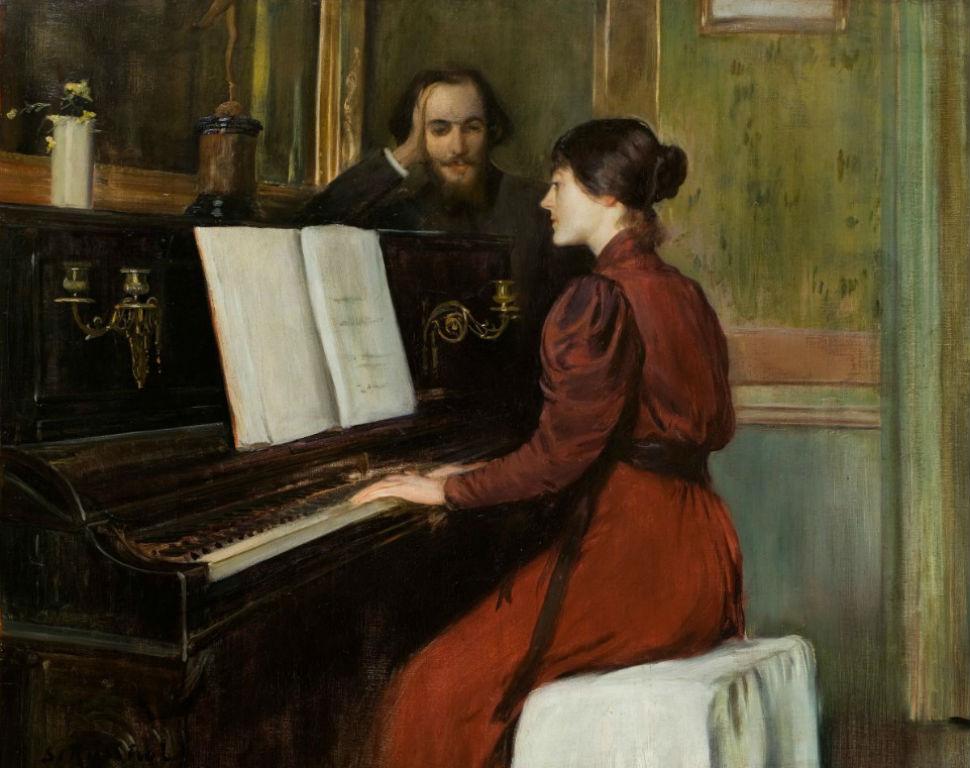 Сантьяго Русиньоль - Романс - 1894.jpg