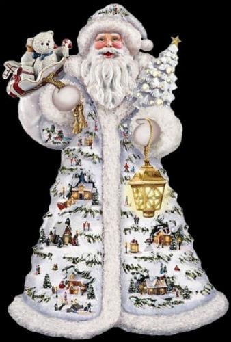 Томас Кинкейд - рождественская статуэтка Санта Клаус.jpg