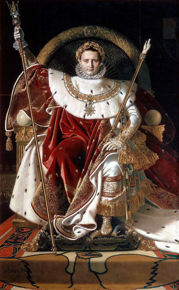 Жан Огюст Доменик Энгр - Наполеон на своем императорском троне.jpg
