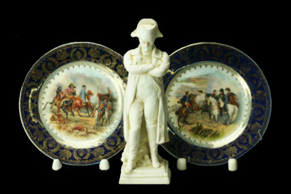 Наполеон - декоративные тарелки и статуэтка.jpg